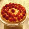 Strawberry Cream Tart w/ Spun Sugar