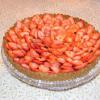 Strawberry Hazelnut Tart