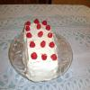 Lemon Strawberry Pound Cake Torte